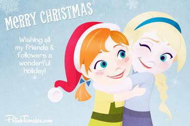 Disney   Frozen   Holiday Hugs by PolishTamales