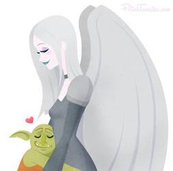 MTG   Avacyn Hug by PolishTamales