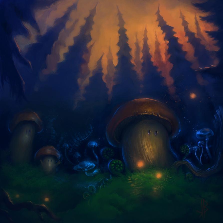 shroomsons by nicheltoten