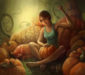 Pumpkin queen by nicheltoten