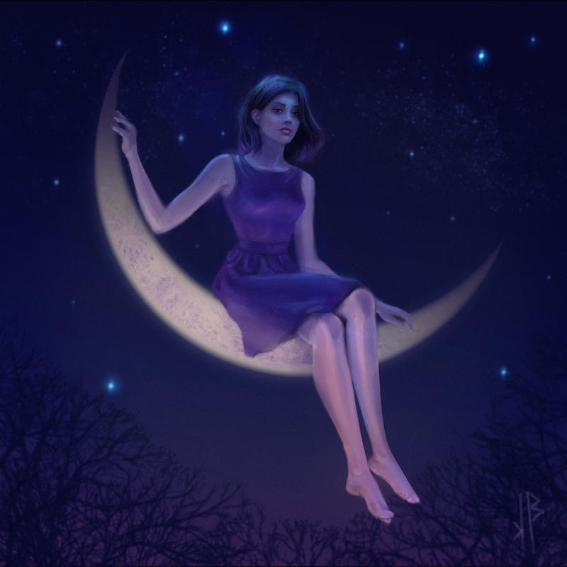 moon by nicheltoten