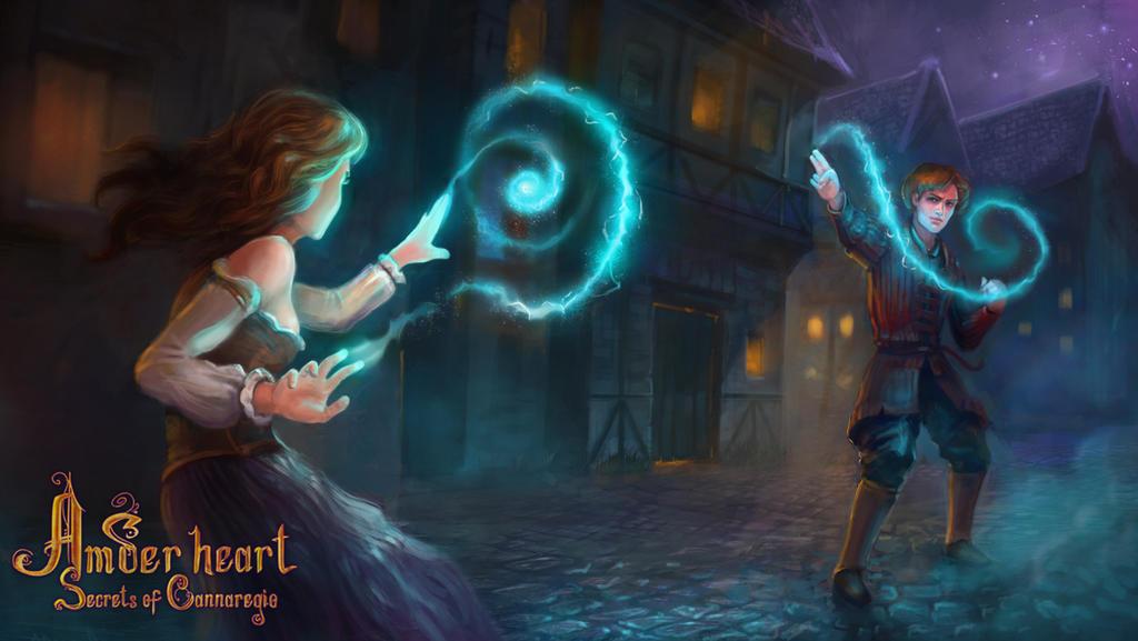 magic battle by nicheltoten