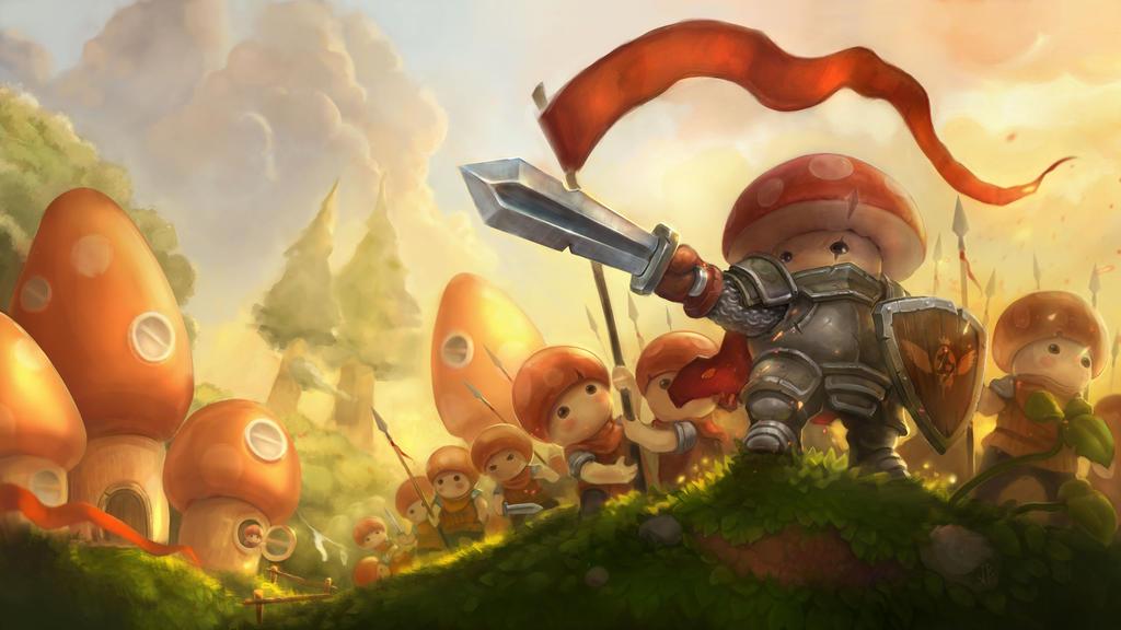 Mushroom Wars 2 by nicheltoten