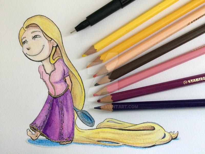 Mad Rapunzel by AudreyAya