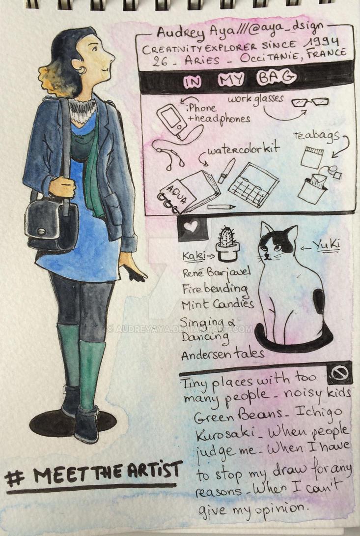 Hello world ! (Meet the artist) by AudreyAya