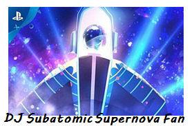 DJ Subatomic Supernova Fan Stamp