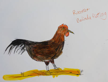 Rudolph the rooster