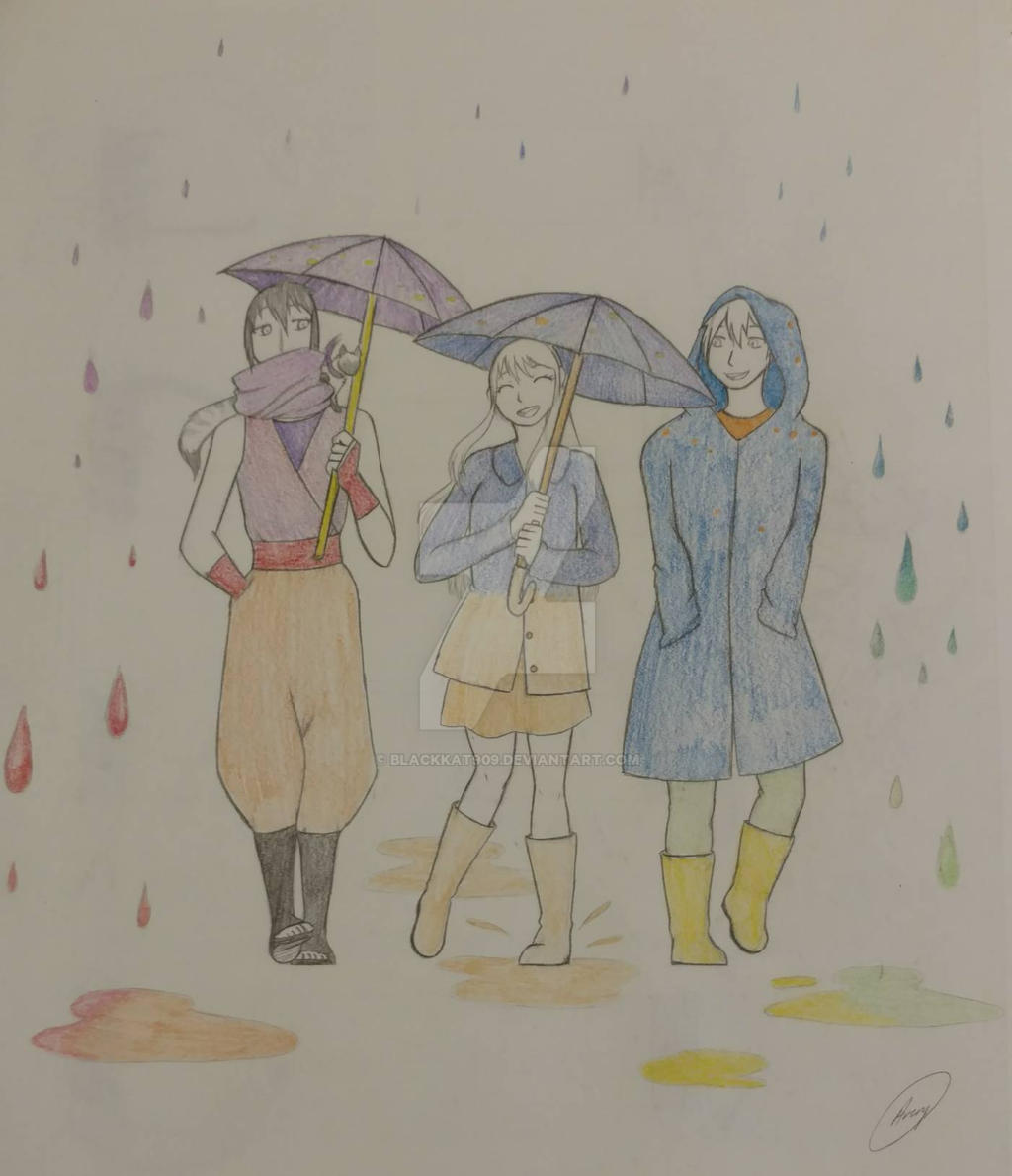 Rainy Day Color Wheel Art Class Project By Blackkat909 On Deviantart