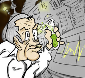 Nixon: Mad Scientist by apathyzeal