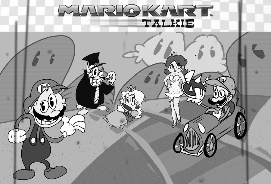 Mario Kart: Talkie by apathyzeal