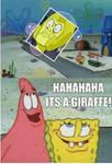 Yellow Diamond Giraffe