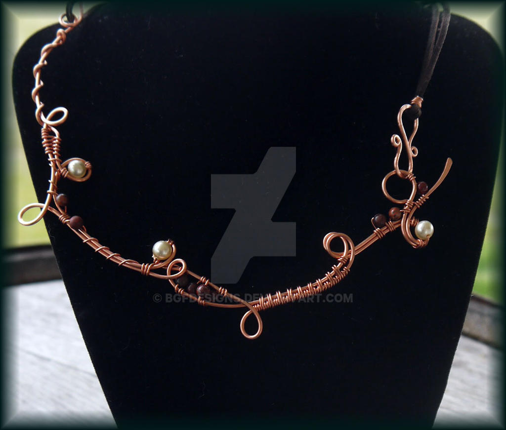 Necklace by bgfdesigns