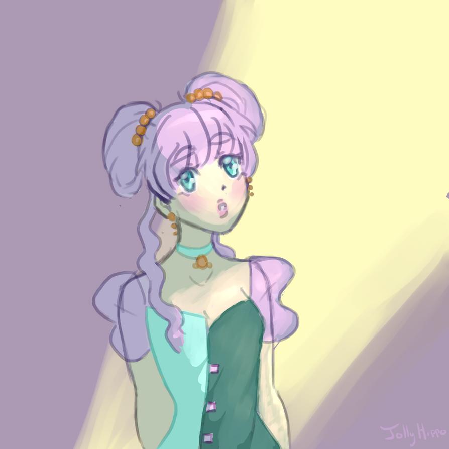 Moon Jelly Princess by Yacio