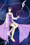 Sailor Saturn's Princess Dress