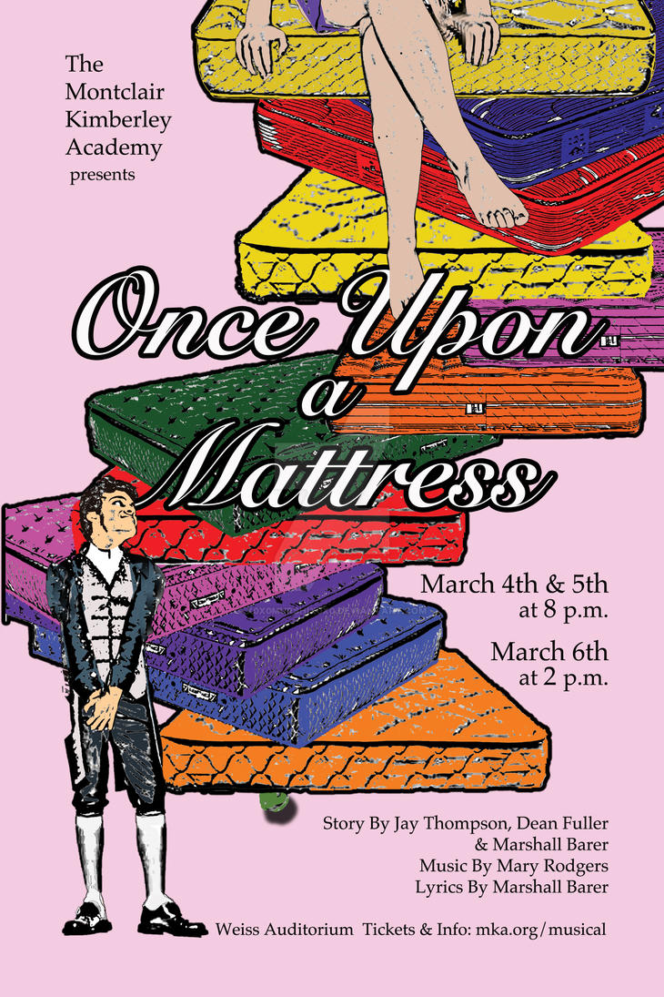 once upon a mattress poster. Once Upon A Mattress Poster By X0x0murshix0x0