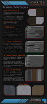 Guide: Brushed Metal Texture in GIMP 2.10.12