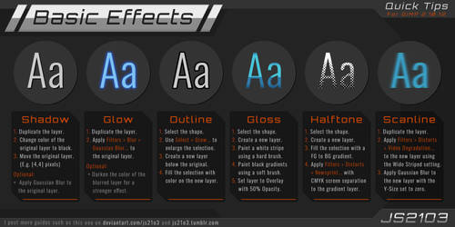 Guide: Basic Effects in GIMP 2.10.12