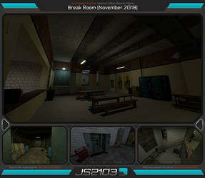 Level Design Practice: Break Room