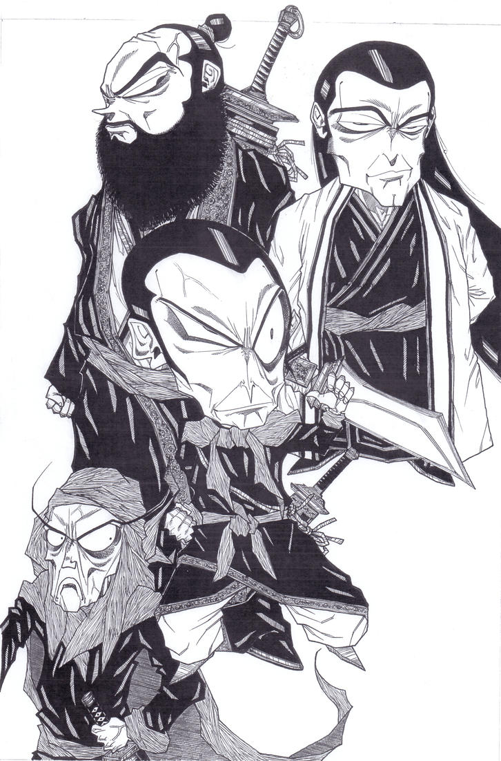les quatre brigands du huabei by MOSHYHITSU