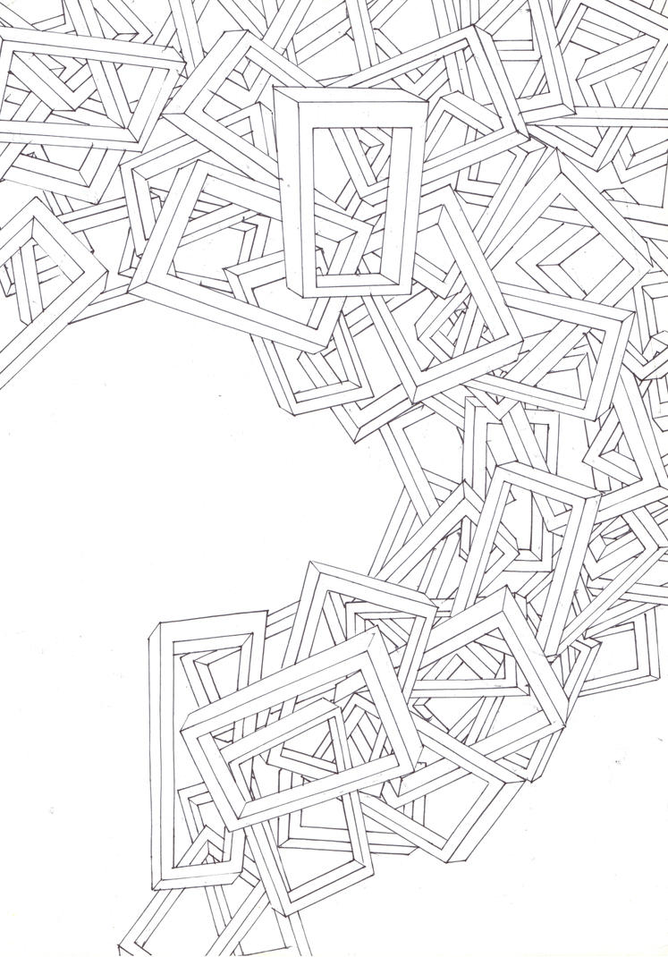geometric wawe by MOSHYHITSU