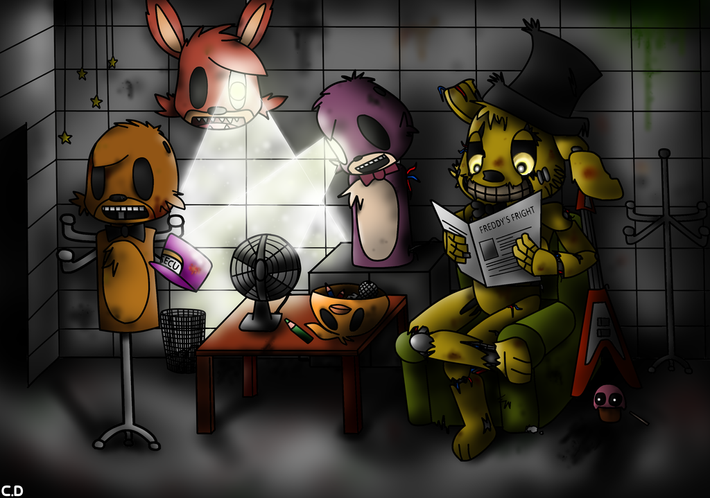 Twitch plays five nights at freddy s youtuber dinkydana had his game