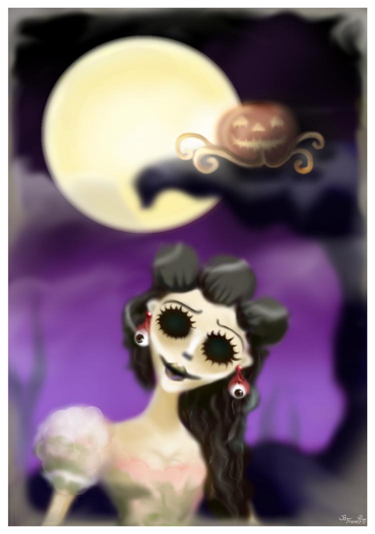 Zombierella by puzzledpixel
