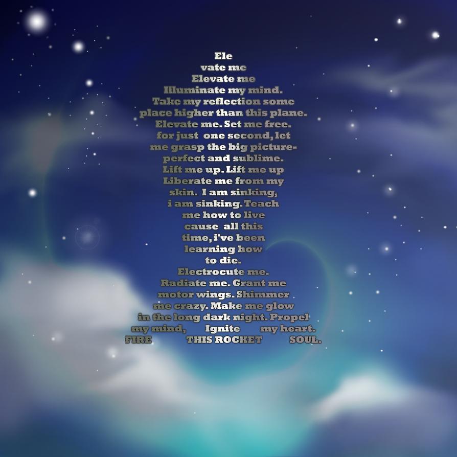 rocket poem by puzzledpixel