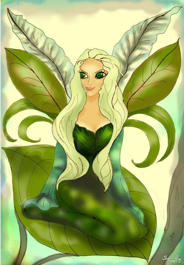 Leaf Fairy by puzzledpixel