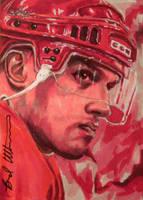 Steve Yzerman Leaf Best of Hockey sketch card by therealbradu