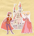prince and princess by clagot