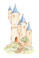 fairytale castle by clagot
