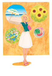 summer by clagot