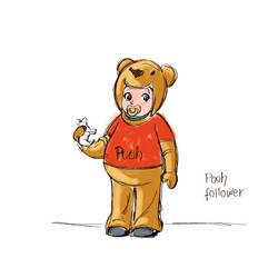 pooh-niki by clagot