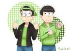 Omega and Choromatsu by sukirai14