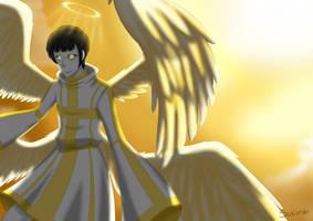 Osomatsu Religion AU: Archangel by sukirai14