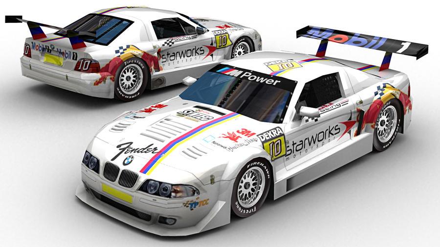 nr2003 car templates nr2003 tptcc bmw m3 car by