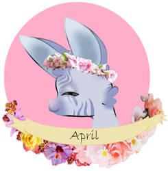 April the Bunny by blinkingstarBS