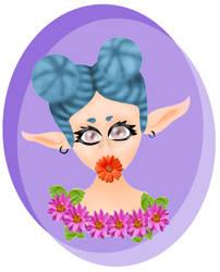 Talia the Elf by blinkingstarBS