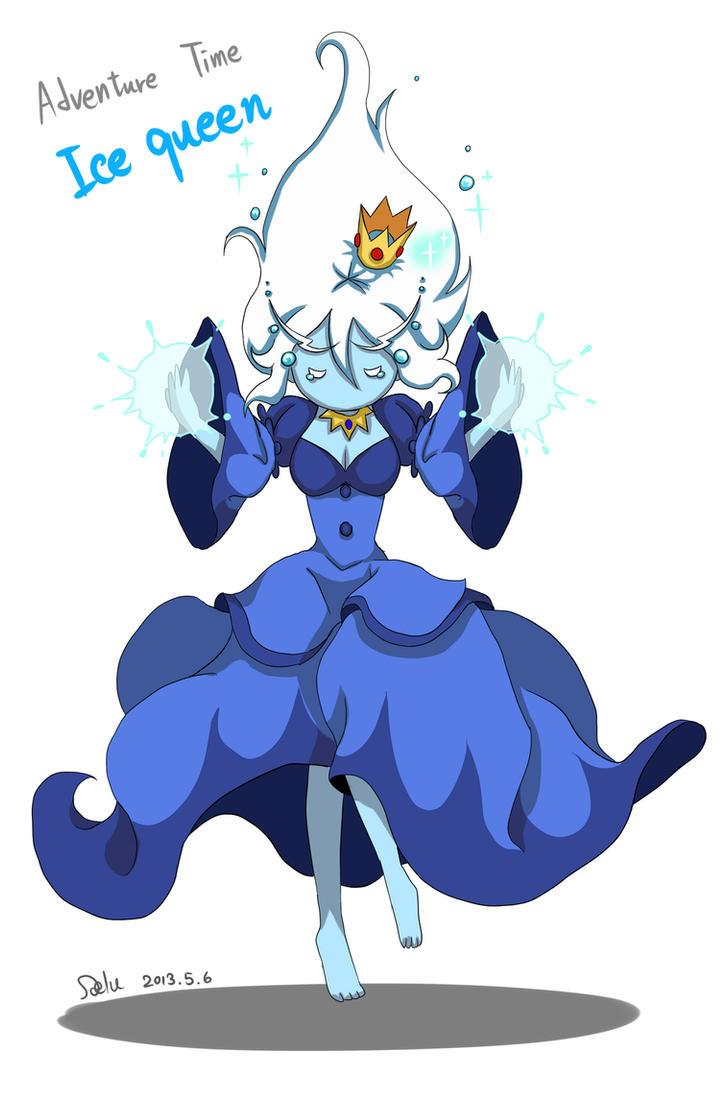 adventure time ice queen by delucat on deviantart