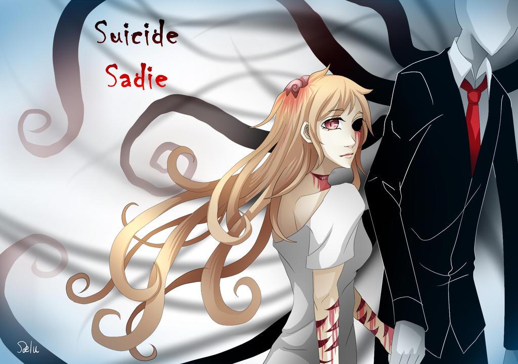 Výsledek obrázku pro creepypasta suicidal sadie