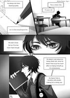Bloody Painter story Comic-Pag.1 by DeluCat