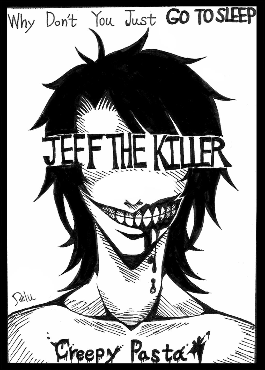 Jeff the killer by DeluCat