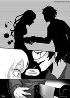 BloodyPainter story Comic-Pag.30 by DeluCat