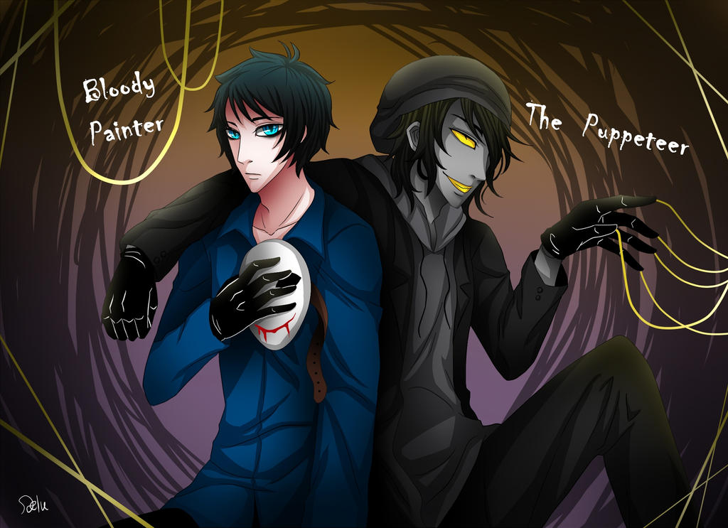 The Gallery For Creepypasta Ticci Toby X Reader – 색칠공부프린트