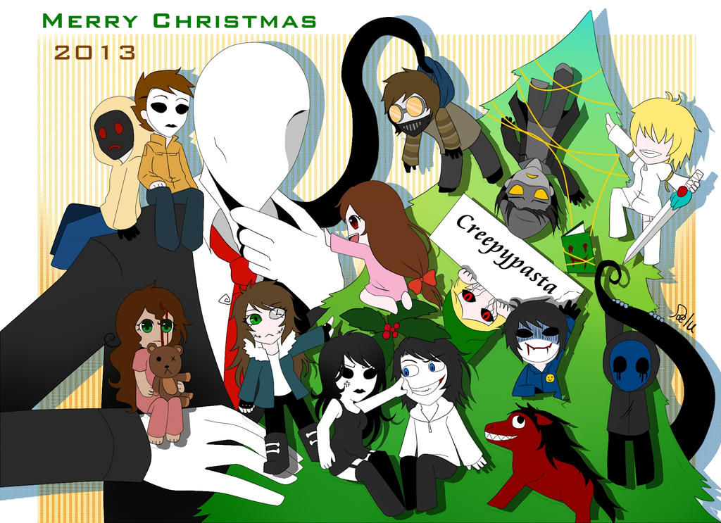 Merry Christmas!!!! 2013 by DeluCat on DeviantArt