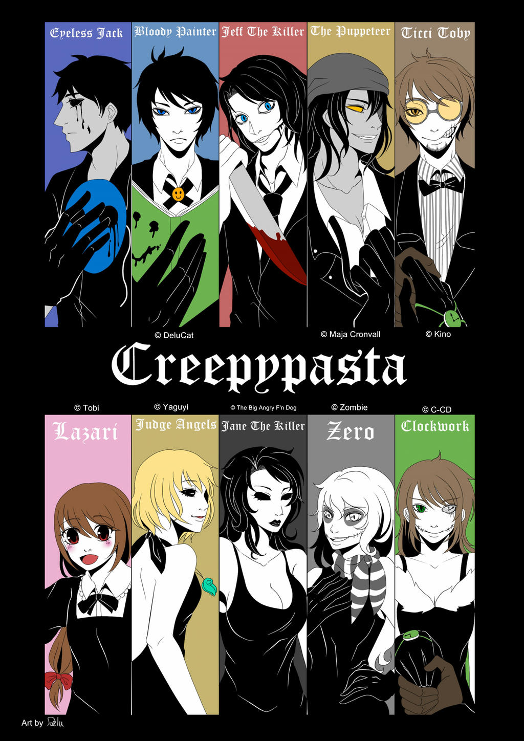 Creepypastas Black Suit by DeluCat