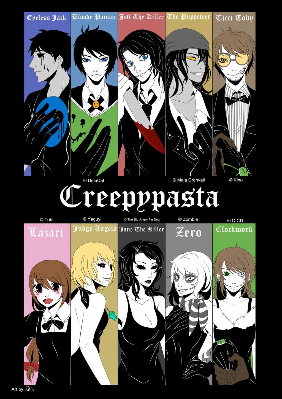 Creepypastas Black Suit by DeluCat