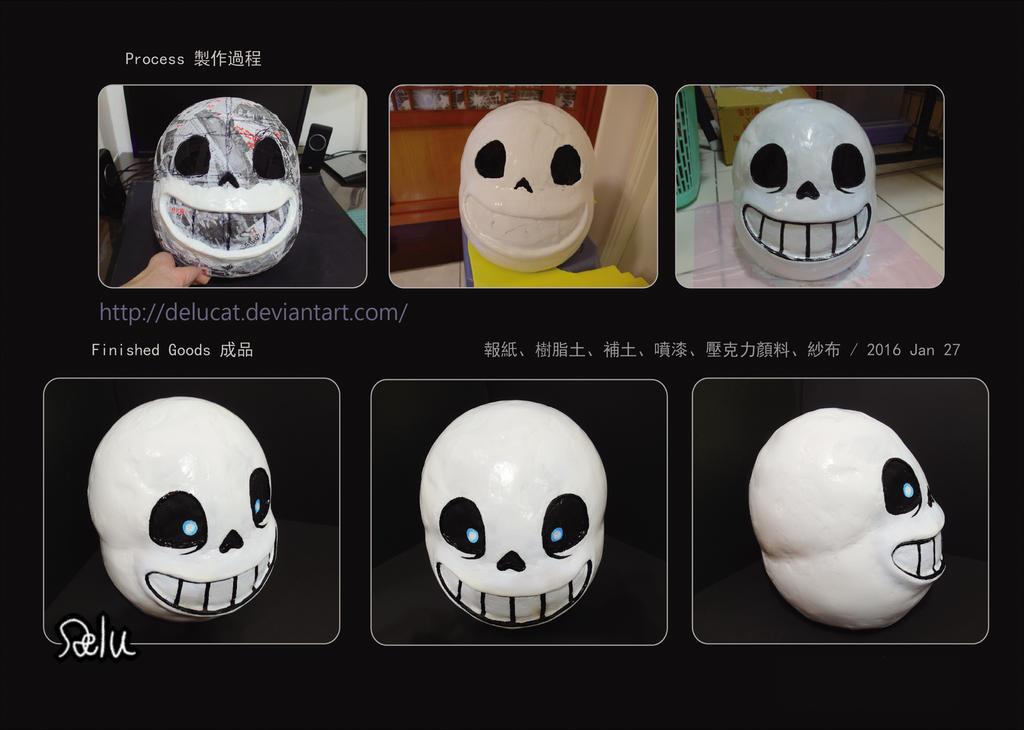Undertale Sans Cosplay Mask Tutorial