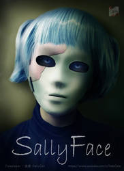 Sally Face cosplay