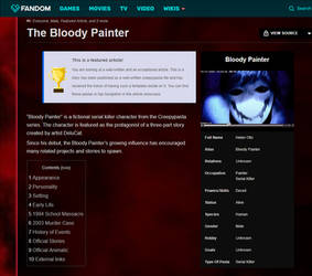Official Bloody Painter wiki page on FANDOM by DeluCat